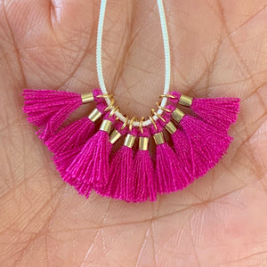Deep Plum - Tiny Tassel