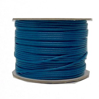 Endless Blue - Wax Polyester Surfer Cord - 45 yd rolls