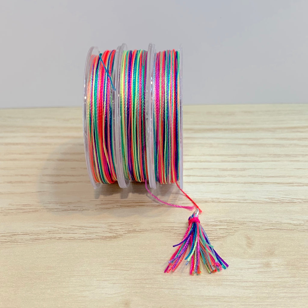 Florescent Mix - Tassel Cord