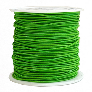 Elastic Cord 1MM - FOREST GREEN (20 yds)