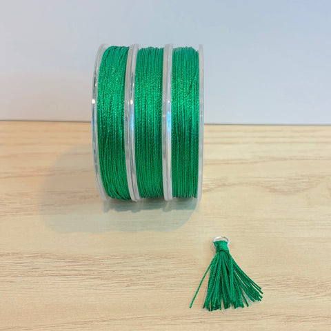 Forest Green - Tassel Cord