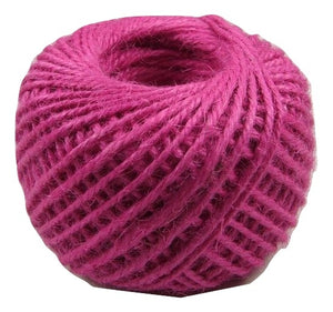 Jute - Fuscia:  1.5MM-2MM (50Ml) (Clearance)