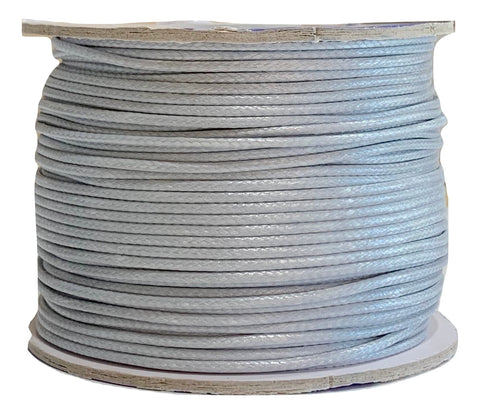 Ghost Gray - Wax Polyester Surfer Cord - 45 yd rolls
