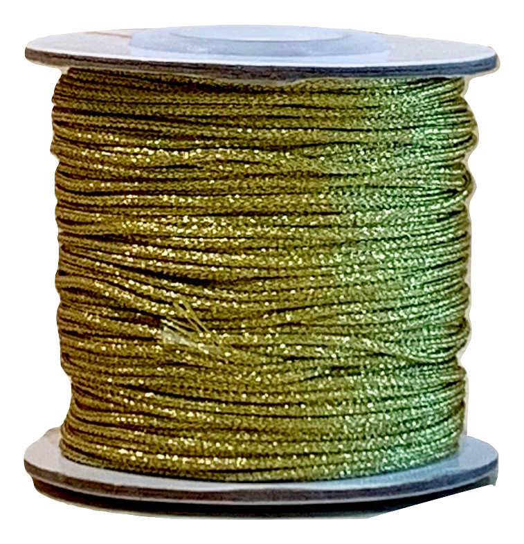 Metallic Gold Chinese Knotting Cord