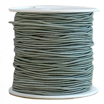 Elastic Cord 1MM - GREY (20 Yds)