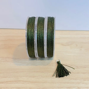 Hunter Green - Tassel Cord