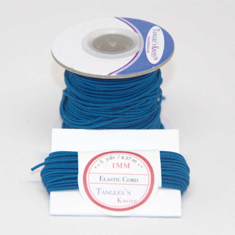Elastic Cord 1MM - PEACOCK