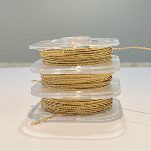 Metallic Gold Chinese Knotting Cord - 10 yd bobbin