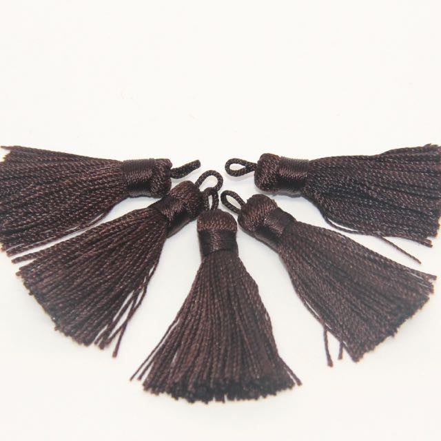 Dark Brown - Tassel