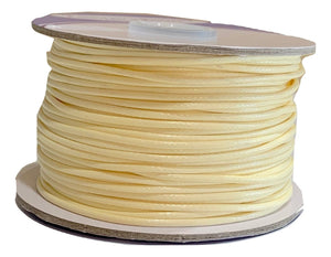 Cream - Wax Polyester Surfer Cord - 45 yd rolls