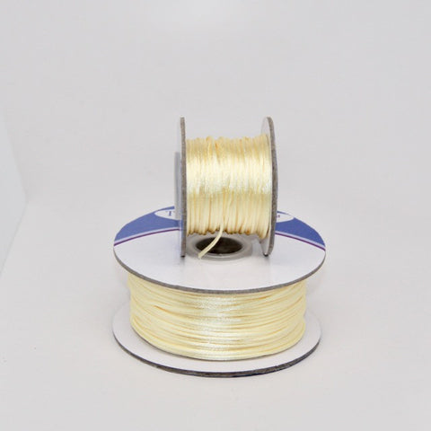 Ivory - Nylon Satin - 1MM