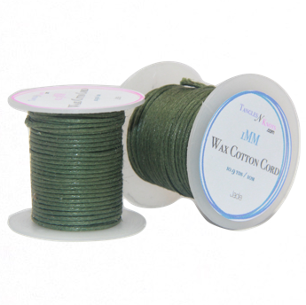 Wax Cotton Cord:  JADE - 10M Spool