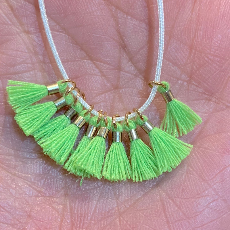 Lime - Tiny Tassel