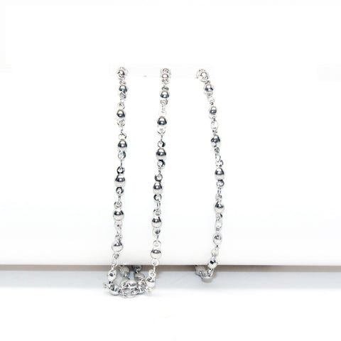Little Ball Link Chain - 3mm x 7mm - Stainless Steel