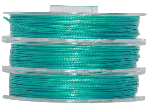 Blue Lagoon - Wax Polyester Surfer Cord - 5 or 10 yards