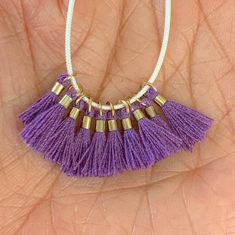 Light Iris - Tiny Tassel