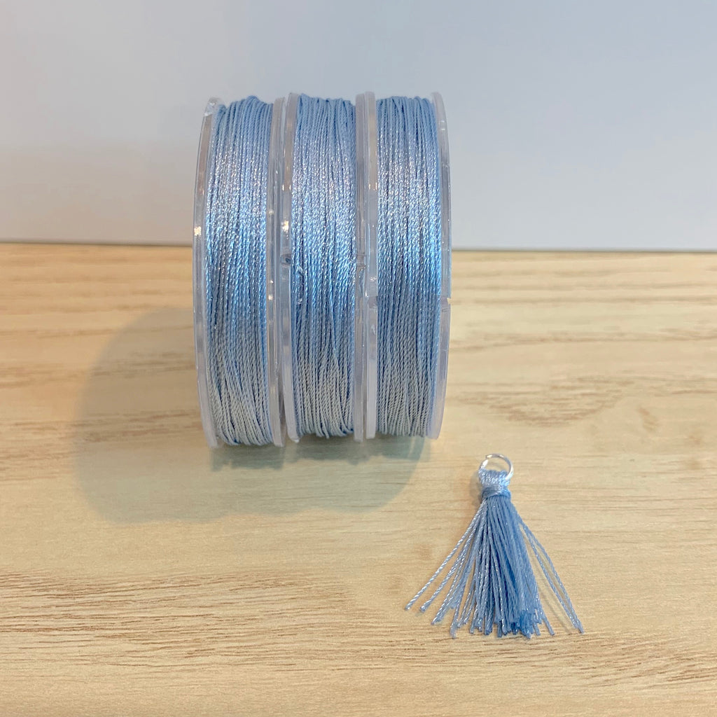 Light Blue - Tassel Cord