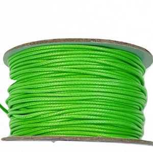 Lime - Wax Polyester Surfer Cord - 45 or 50 yd rolls