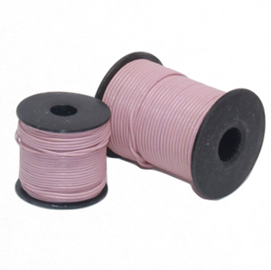 Indian Leather:    Mauve - 25M Roll