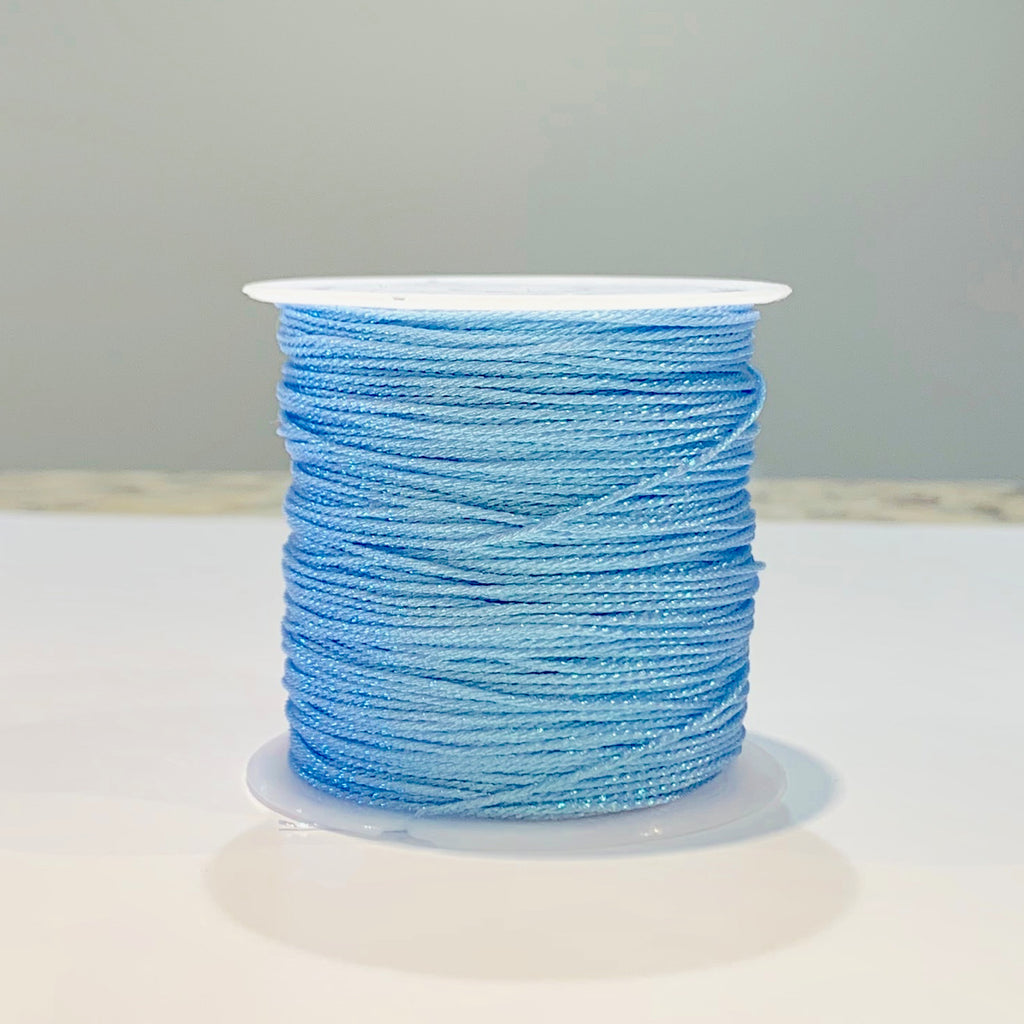 Metallic Strand Cord - Light Blue