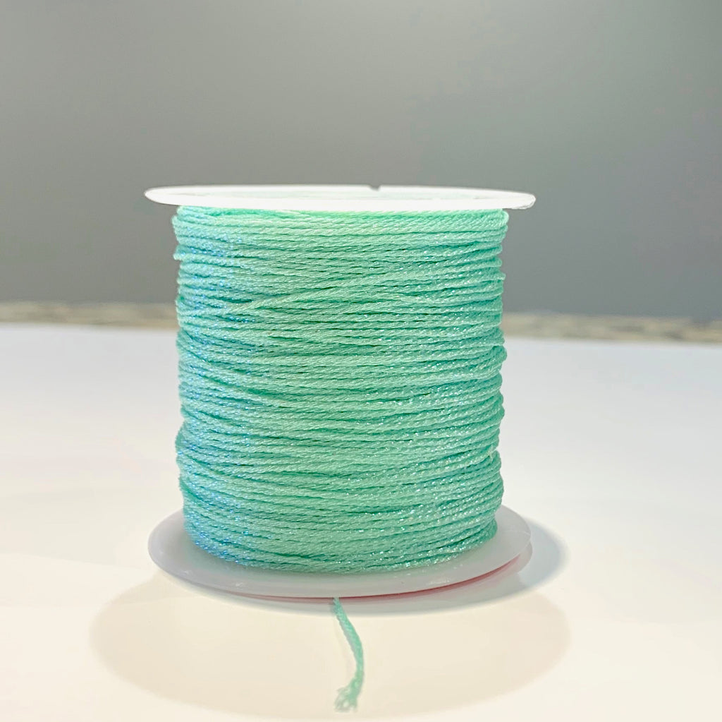 Metallic Strand Cord - Mint