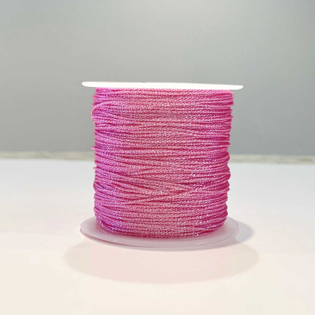 Metallic Strand Cord - Rosy Rose