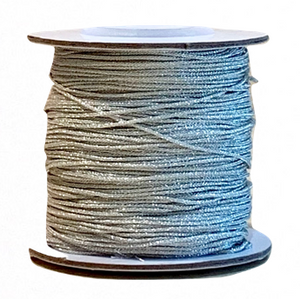 Metallic Silver Chinese Knotting Cord