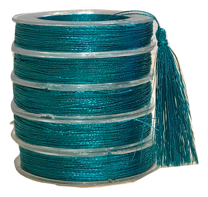 Metallic Aquarium - Tassel Cord