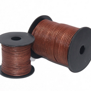 Indian Leather:    Metallic Copper - 25M Roll
