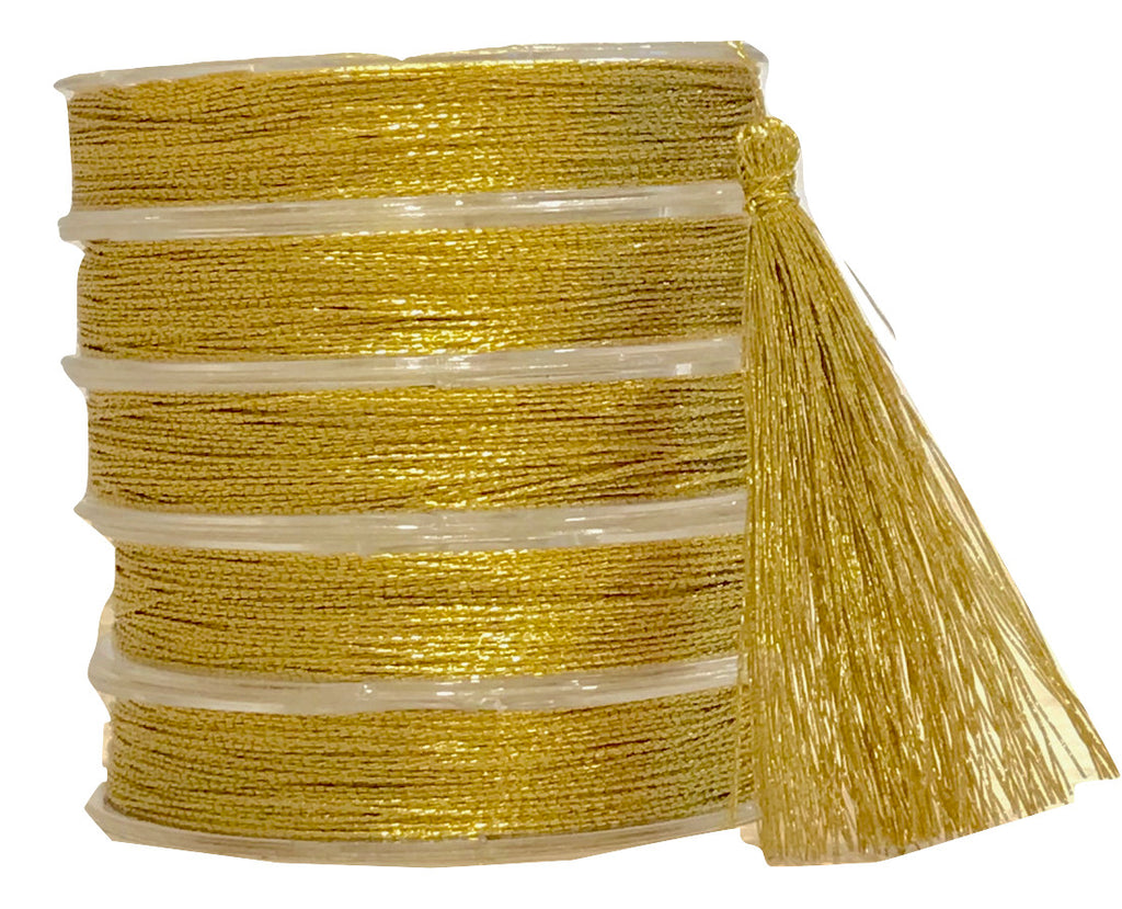 Metallic Gold - Tassel Cord