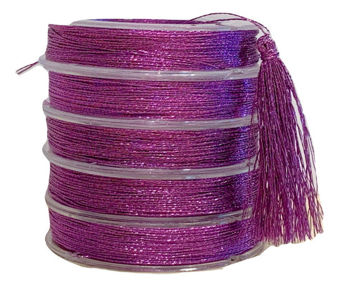 Metallic Grape  - Tassel Cord