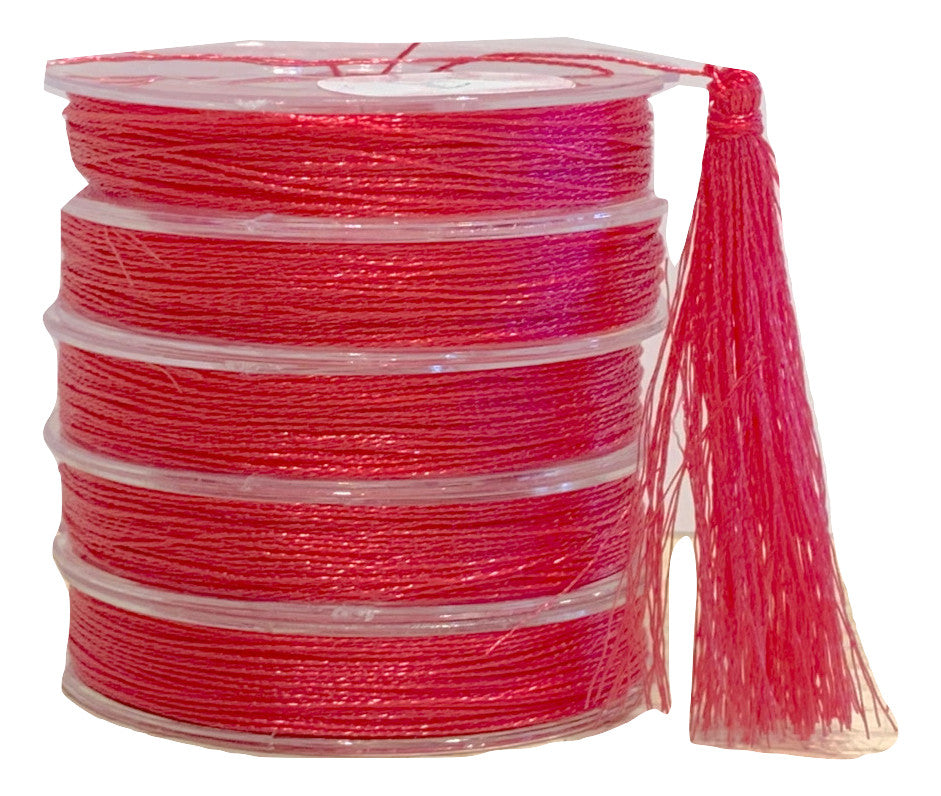 Metallic Raspberry  - Tassel Cord