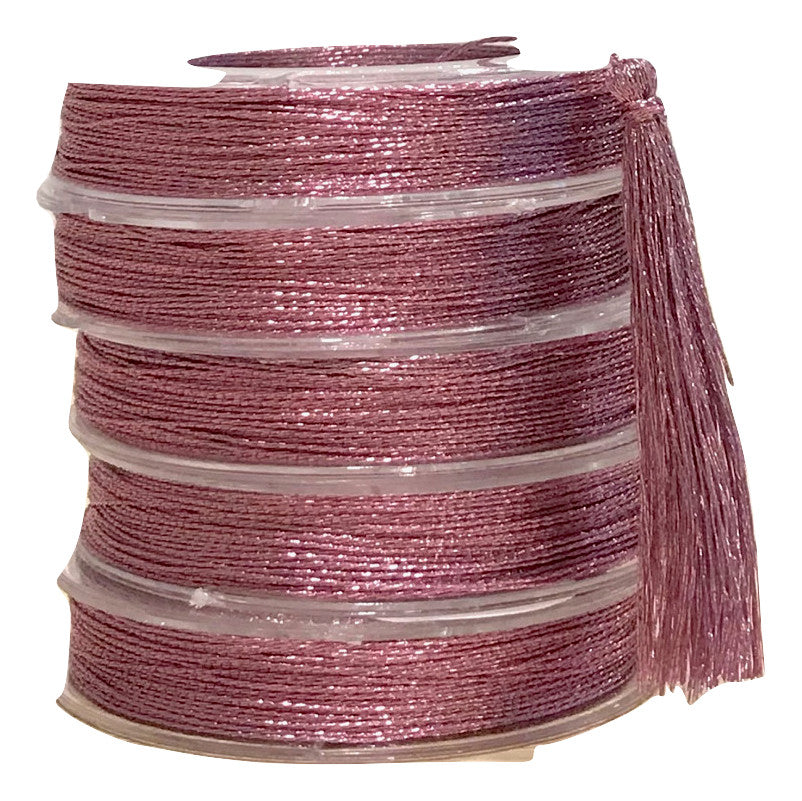 Metallic Rose - Tassel Cord