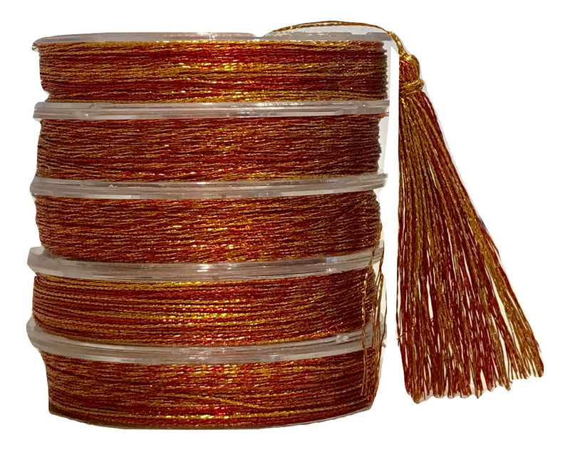 Metallic Sunset - Tassel Cord
