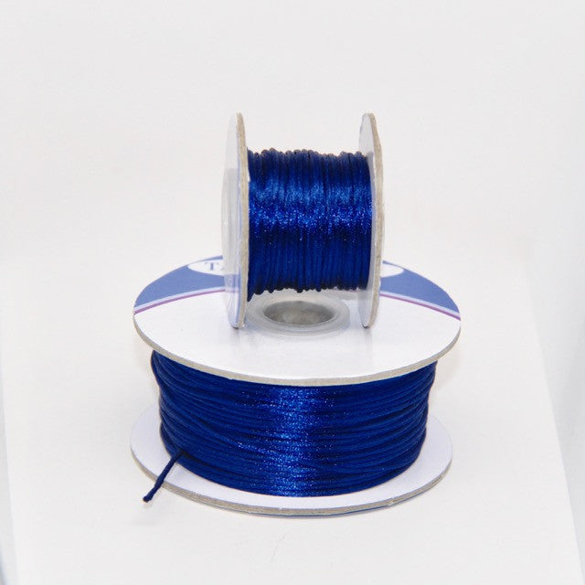 Midnight Blue - Nylon Satin- 1MM