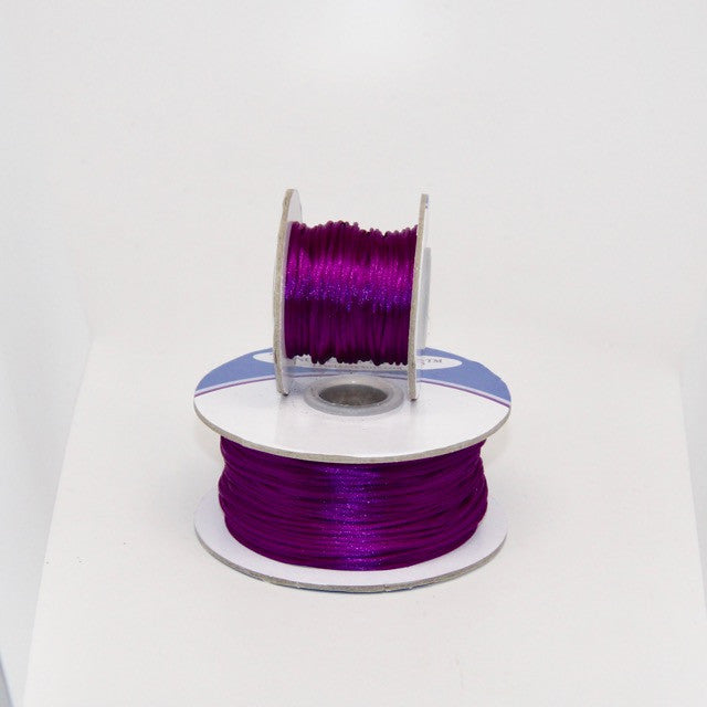 Midnight Grape - Nylon Satin- 1MM