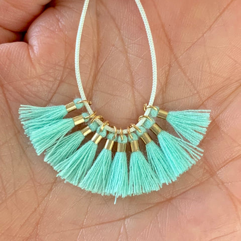 Mint - Tiny Tassel