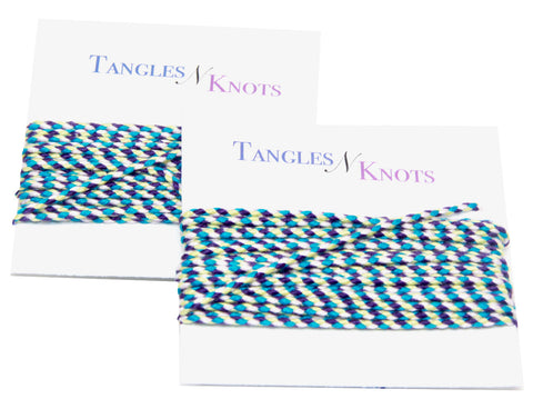 Nylon Braided Multi-Color Cord - Marine Life