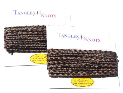 Nylon Braided Multi-Color Cord - Mud Pie