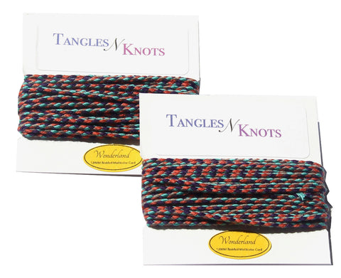Nylon Braided Multi-Color Cord - Wonderland