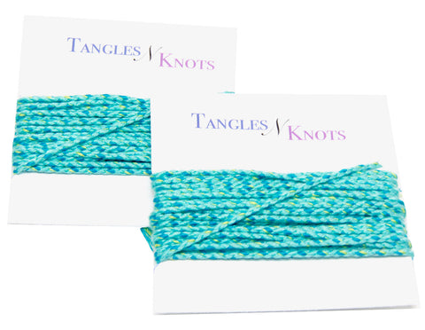 Nylon Braided Multi-Color Cord - Ocean