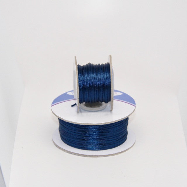 Navy - Nylon Satin- 1MM