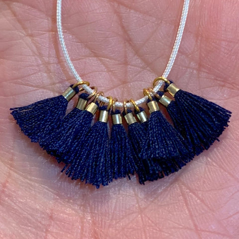 Navy - Tiny Tassel
