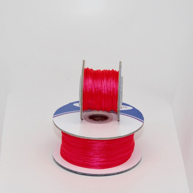 Neon Pink - Nylon Satin - 1MM