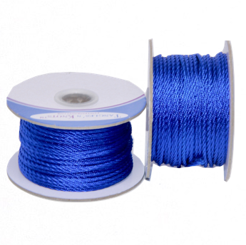 Nylon Twisted Cord - Royal Blue - 2mm & 3mm