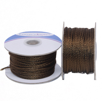 Nylon Twisted Cord - Tree Bark - 2mm & 3mm