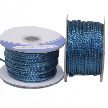Nylon Twisted Cord - Williamsburg Blue - 2mm & 3mm