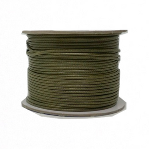 Olive Drab - Wax Polyester Surfer Cord - 45 yd rolls