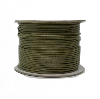Olive Drab - Wax Polyester Surfer Cord