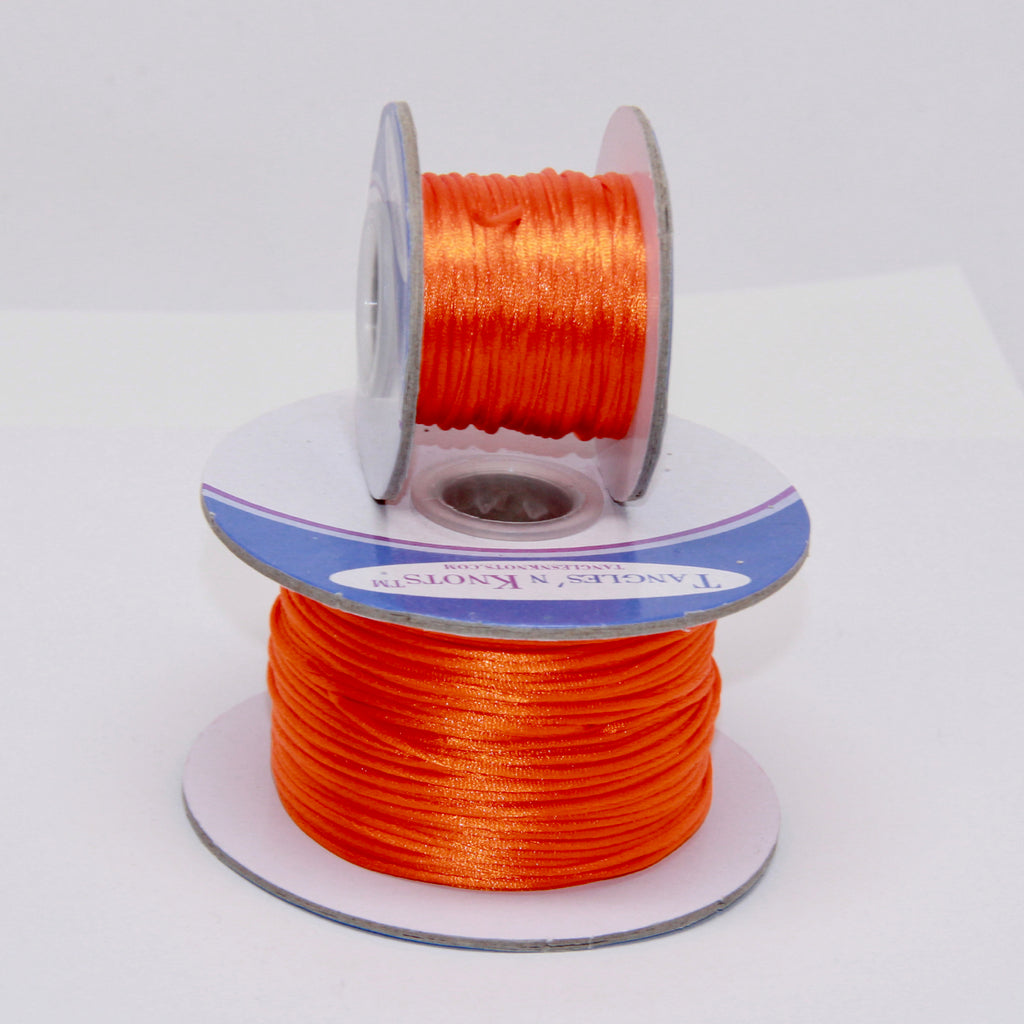 Orange - Nylon Satin- 1MM
